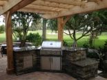 PEL outdoor kitchen